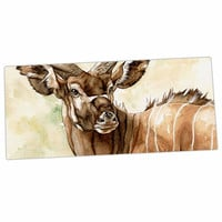 "Wildlife ""Africa 1"" Brown Animals Desk Mat"