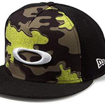 Oakley Men s Skull Cap 2.0 Print New Era 9Fifty Snapback Mesh Go 8406a65047e