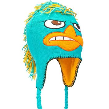 Phineas & Ferb - Perry Mohawk Peruvian Knit Hat