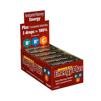 Honees Honey Energy Plus Drops - Case of 24 - 1.58 oz