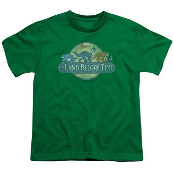 Land Before Time - Retro Logo Short Sleeve Youth 18/1 Shirt Officially Licensed T-Shirt