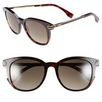 Women's Fendi 51mm Retro Sunglasses