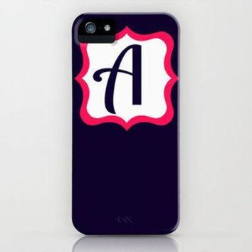 MDIG91W Letter A iPhone Case by Jordan Virden | Society6