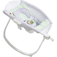 Fisher-Price Deluxe Newborn Auto Rock 'N Play Sleeper With SmartConnect - Isle Stone