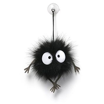 Gund Spirited Away Stuffed Soot Sprite Window Cling Plush