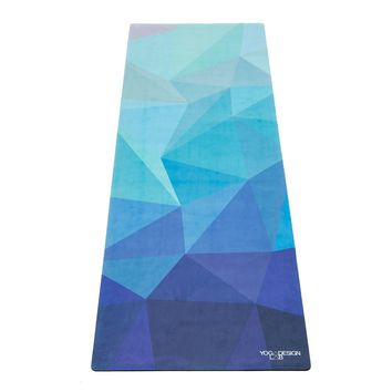 Yoga Mat | Geo Blue