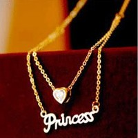 Dazzling Princess Fashion Necklace  | LilyFair Jewelry