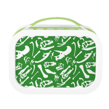 Dinosaur Bones (Green) Lunch Box