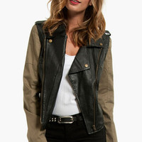 Take Flight Moto Jacket $79