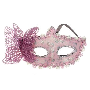 Fashion  2018   Sexy Ball Butterfly  Mask  Mask for Girls Women Masquerade  Dancing Party  Beautiful  half face Mask  Hot Sale