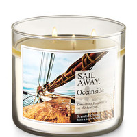 Sail Away - Oceanside 3-Wick Candle | Bath And Body Works