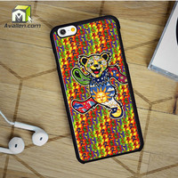 The Grateful Dead Dancing Bear iPhone 6 Case by Avallen