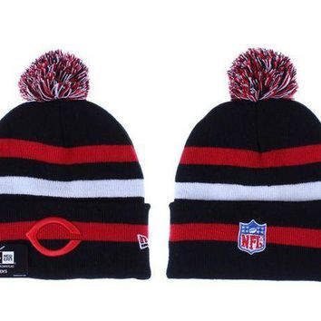 ESB8KY Chicago Bears Beanies New Era NFL Football Cap