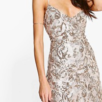 Boutique Rezy Sequin Bodycon Dress