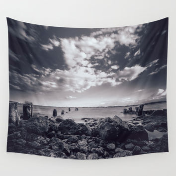 Im not moving Wall Tapestry by HappyMelvin