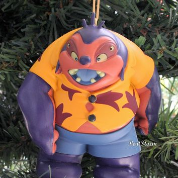 Licensed cool 2017 Custom Disney Lilo & Stitch BIG Jumba Jookiba Christmas Ornament PVC NEW
