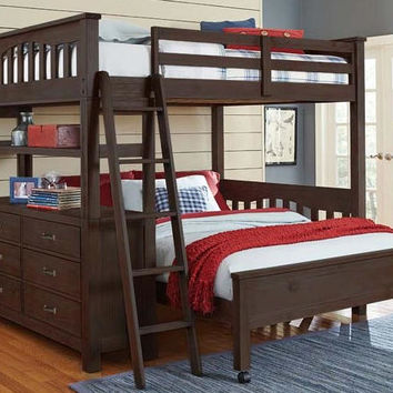 Nielsen Twin Size L Shape Loft Bed