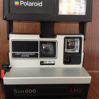 Polaroid Sun 600 Instant Film Camera