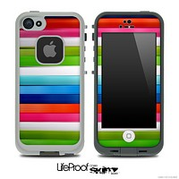 Color Bar Skin for the iPhone 5 or 4/4s LifeProof Case