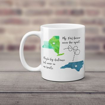 Long Distance Father's Day Mug - Father's Day Gift