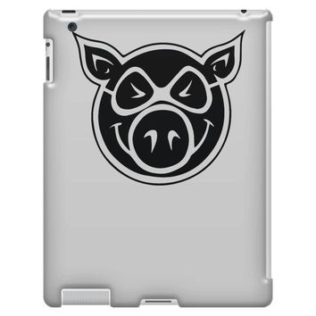 pig wheels iPad 3 and 4 Case