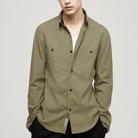 Rag & Bone - Naval Shirt, Gold