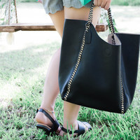 Chain of Command Bag - Black and Gold