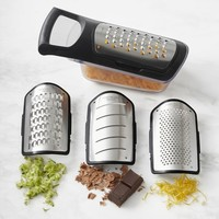 Williams Sonoma West Blade Container Soft Touch Grater