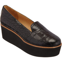 MM6 Embossed Platform Loafer at Barneys New York at Barneys.com