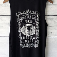 American Country Girl Tank