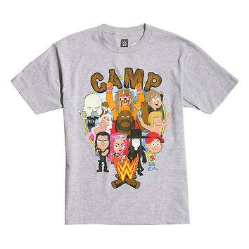 Camp WWE Campers & Counselors T-Shirt