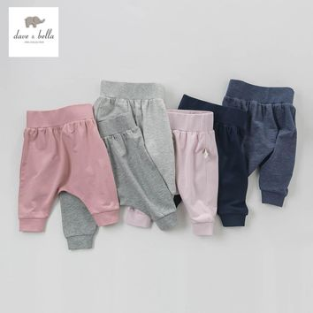 DB5361 DAVEBELLA spring new arrival baby boy girl harem pants PP pants children trousers