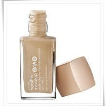 Avon Healthy Makeup Liquid Foundation Nutmeg