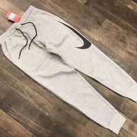 ICIKNQ2 Nike Hybrid Swoosh Joggers Woman Men Fashion Pants Trousers Sweatpants-1