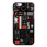New Twenty One Pilots Print On Hard Plastic Case For iPhone 6s, 6s plus