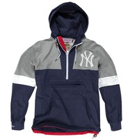 Half Zip Windbreaker<br>New York Yankees - Mitchell & Ness