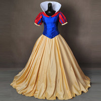 Snow White Costume for adult Halloween Costumes for women Snow queen Costume party princess dresses