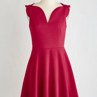 Mid-length Sleeveless A-line Catch Me if You Can-Can Dress by ModCloth