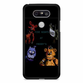 Five Nights At Freddy S Fan Made Picture LG G5 Case