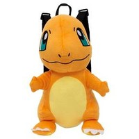 Pokemon Plush Backpack - Orange/Yellow : Target