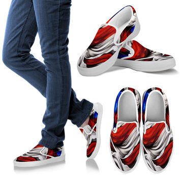 American Flag Women's Casual Shoes