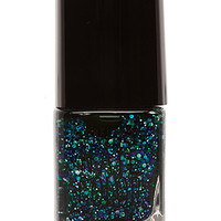 FOREVER 21 Forest Green Glitter Nail Polish Green/Multi One