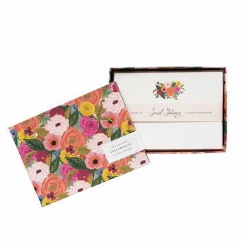 Juliet Rose Stationery Set