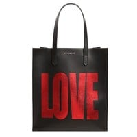 LOVE Leather Tote by Givenchy