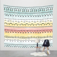 Frills & Fancies Wall Tapestry by Heather Dutton