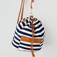 Hampshire Stripe Bucket Bag