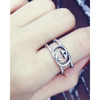 Gucci 925 sterling silver  Ring Couple Ring