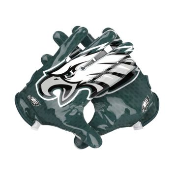 Nike Vapor Knit (NFL Eagles) Men's Football Gloves