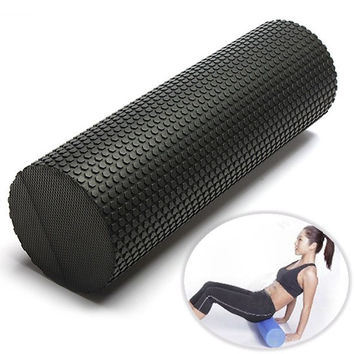 45cm EVA Yoga Pilates Fitness Massage Therapy Foam Roller Exercise Gym Point = 1933349444