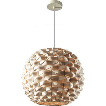 Murray Feiss Denmark 1 Light Bamboo Pendant - F2792/1NB